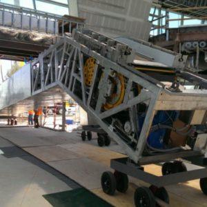 Escalator ready for installation