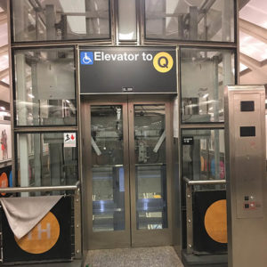 Second Avenue Transit Elevator