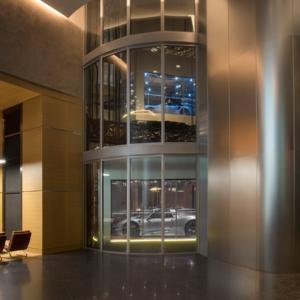 Porsche Tower elevator system